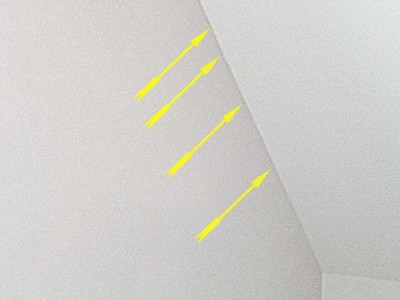 Risse in Wand Risse Trockenbau Rigips Dachschrägen unvermeidbar