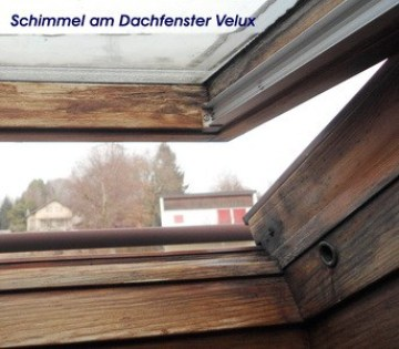 Schimmel am Veluxfenster Dachfenster