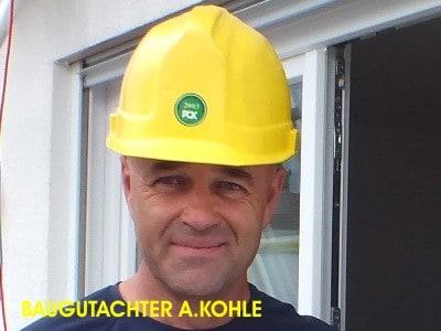 Baugutachter Bodensee A. Kohle