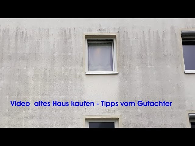 altes Haus kaufen, Tipps Gutachter