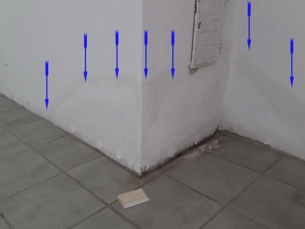 Wasser & Schimmel unter dem Estrich nach Wasserschaden, Bodenbelag,Laminat, Fußboden, Parkett, Holzbelag