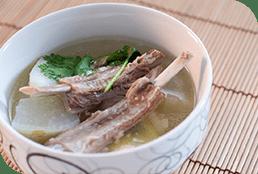 Pork Rib Ginseng Soup