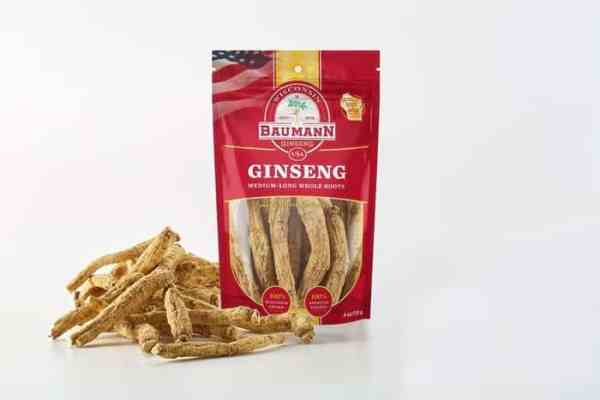 Wisconsin Ginseng Medium Root Long front