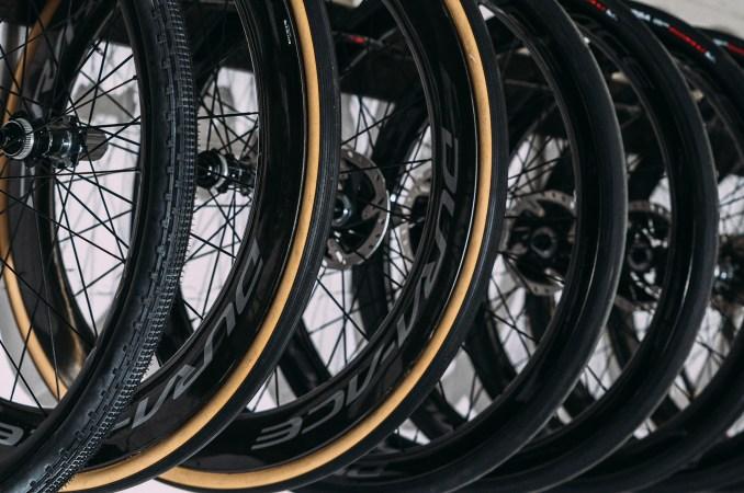 Wheels rack