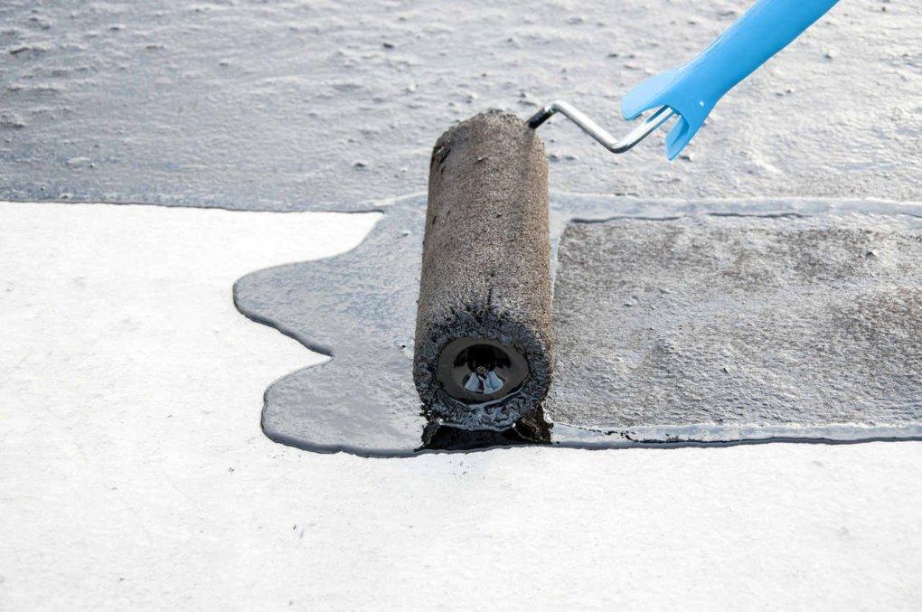 ứng dụng màng chống thấm lỏng lên bề mặt