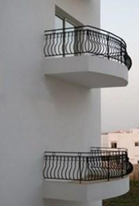 Balkon ohne Balkontür
