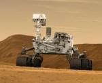 Curiosity bewegt sich auf der Oberfläche des Planten Mars