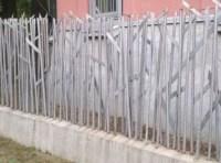 Zaun aus Bewehrunsstahl