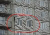 Gemauerte Wandscheibe fällt aus Stahlbetonrahmen