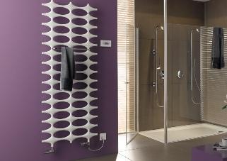 Designheizung im Badezimmer