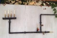Gaslampen als Terrassenbeleuchtung