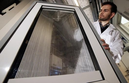 Fluidic Window als Prototyp