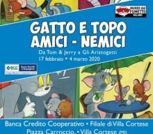 """""""Gatto e topo amici-nemici"""" la mostra in programma dal 17 febbraio"""