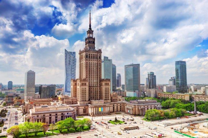 Varsovia - Palacio de Cultura (Palac Kultury i Nauki)