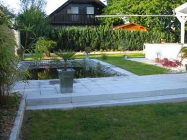 Erneuerung des Zugangs und der Außenanlagen mit Teichbau_4