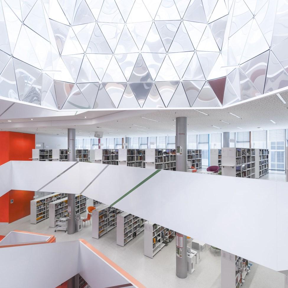 Architekturfotografie Stadtbibliothek Augsburg