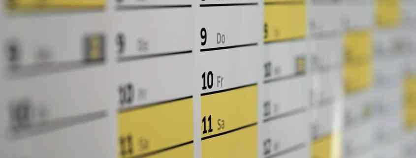 Kalender Header