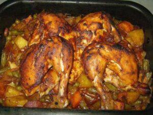 طبخ الدجاج