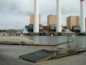 Power station boat ramp