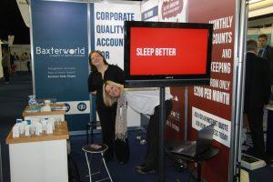 Baxterworld at the Smart Business show