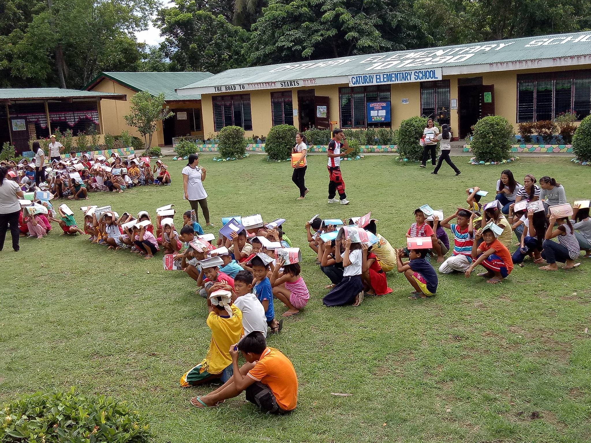 Mdrrmo Conducts Earthquake Drills In Various Schools