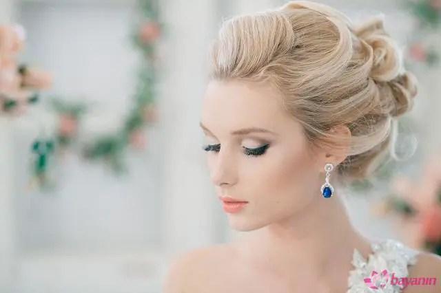 Düğün topuz modelleri