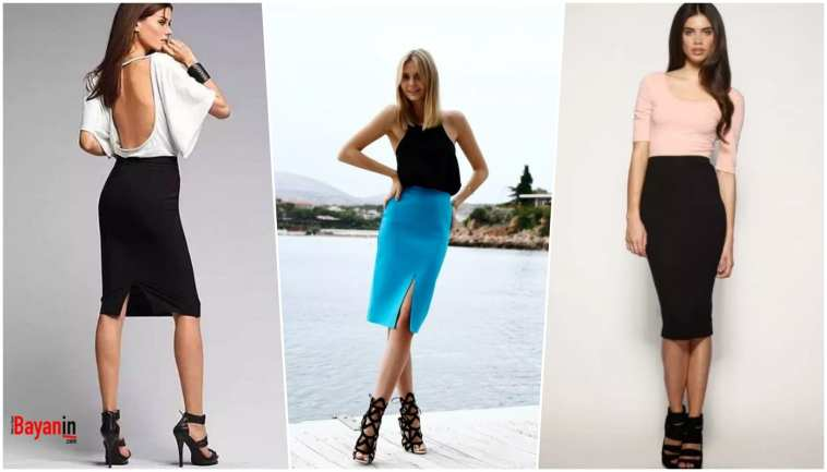 Pencil Skirt Models