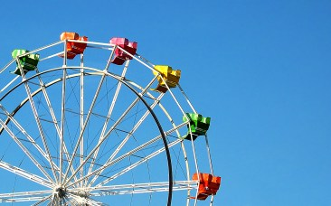 Ferris Wheel in Santa Cruz California