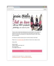 Email campaign marketing mockup for Jesse Steele apparel and aprons using MailChimp for Mothers Day by Bayard Heimer.jpg