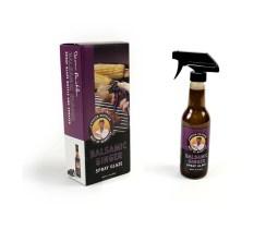 Steven Richland Barbecue Balsalmic Ginger Spray Glaze box packaging and bottle label by Bayard Heimer