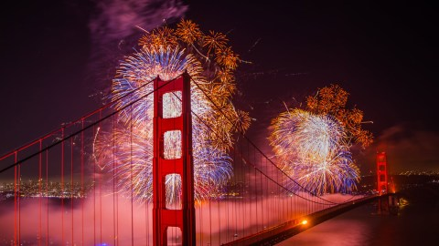 Where To See New Year's Eve Fireworks in The Bay Area