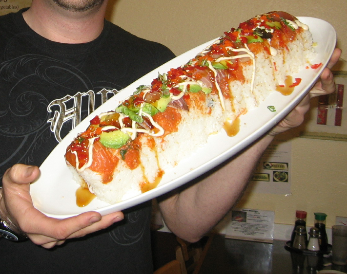 giant sushi roll
