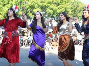 Arts, Assyrian, Polynesian and other weekend festivals