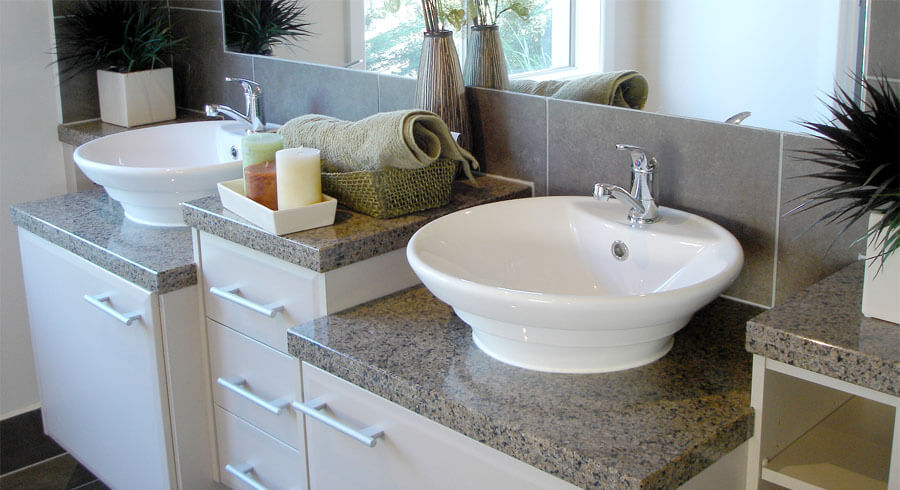 comparing types of bathroom sinks