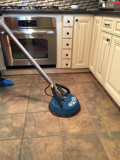 professional tile and marble cleaning