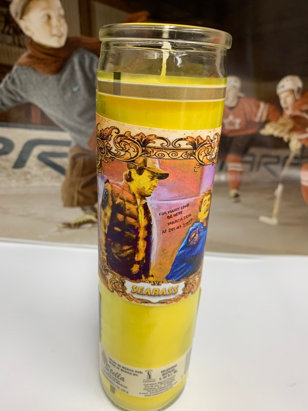 Cam Neely playoff candle