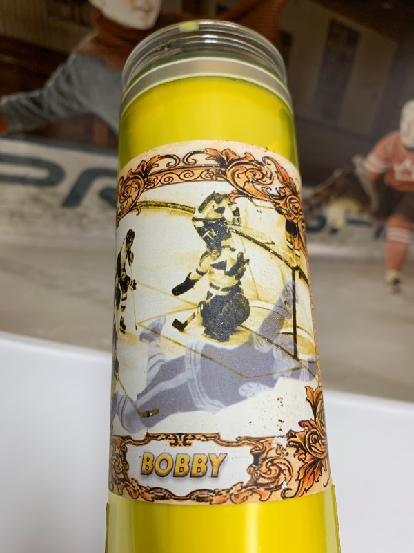 Bobby Orr playoff candle