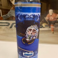 Jordan Binnington playoff candle