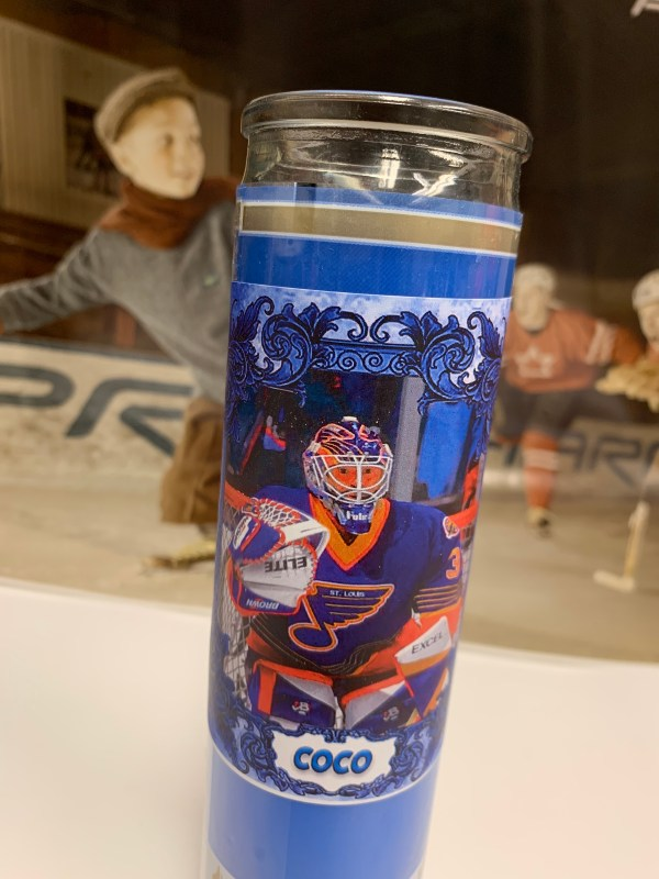 Grant Fuhr playoff candle
