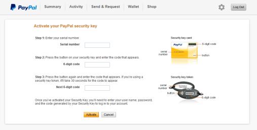 Add-PayPal-VIP-Access-Key