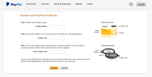 How to add Symantec VIP Access key to PayPal ~ Bay Area Tech Pros
