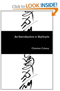Baybayin Book