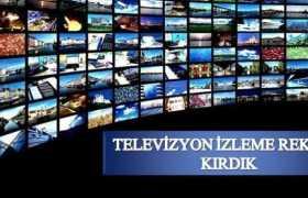 Türkiye Dünyada Televizyon İzleme Rekoru Kırdı