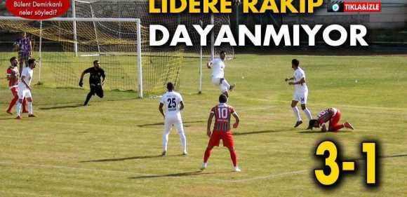 Bayburtspor'dan Diyarbekirspor'a Ağır Darbe…