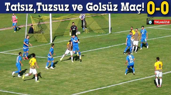 Genç Osman'da Tatsız,Tuzsuz ve Golsüz Maç!