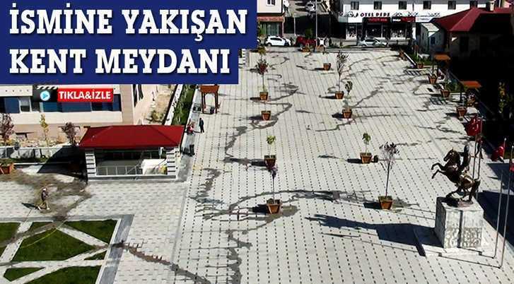 Bayburt'ta İsmine Yakışır Kent Meydanı