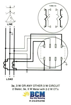 Delta Connected CTs  Electric power & transmission & distribution  EngTips