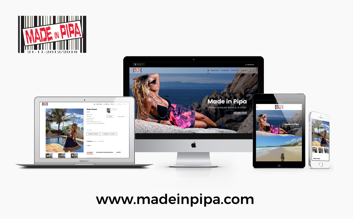 MADE IN PIPA – VÊTEMENTS & ACCESSOIRES