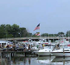 Marina in Deale, Maryland