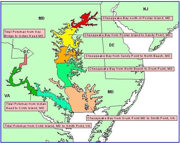 marine forecast map